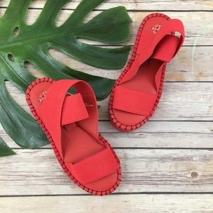 Free People x Faryl Robin Margot red sandals